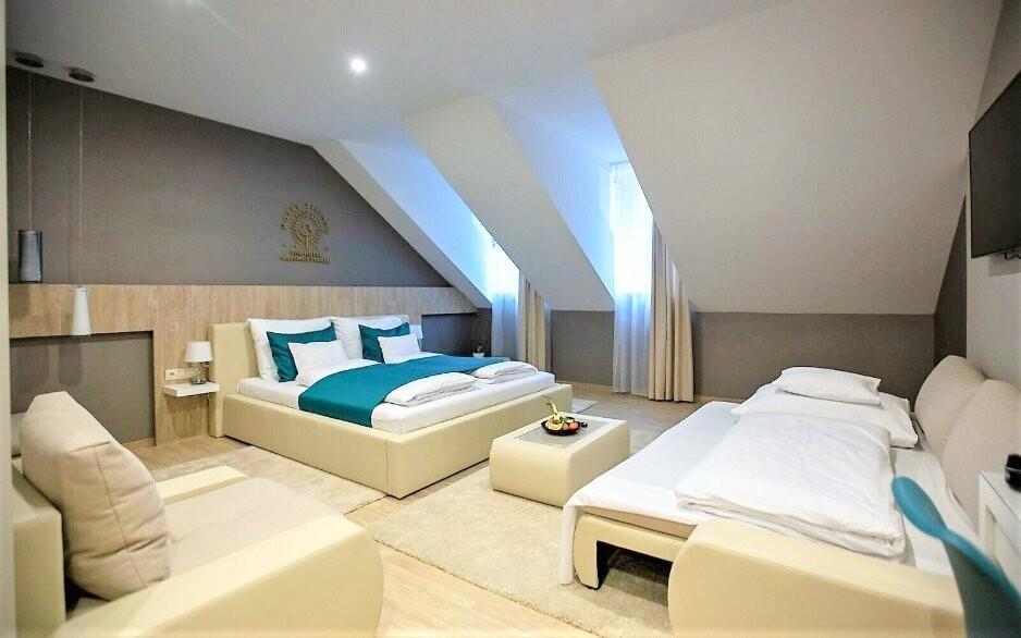 Izba Deluxe Hotel Tiliana **** Maďarsko