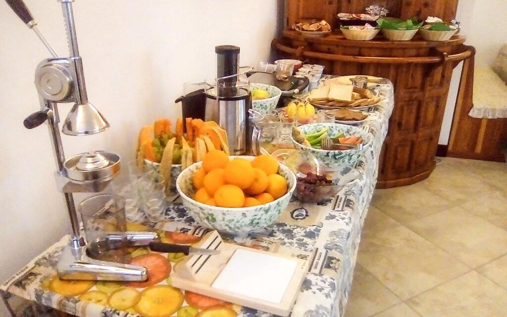 Snídaně formou bufetu v Hotelu Garní Al Nardis *** v Itálii