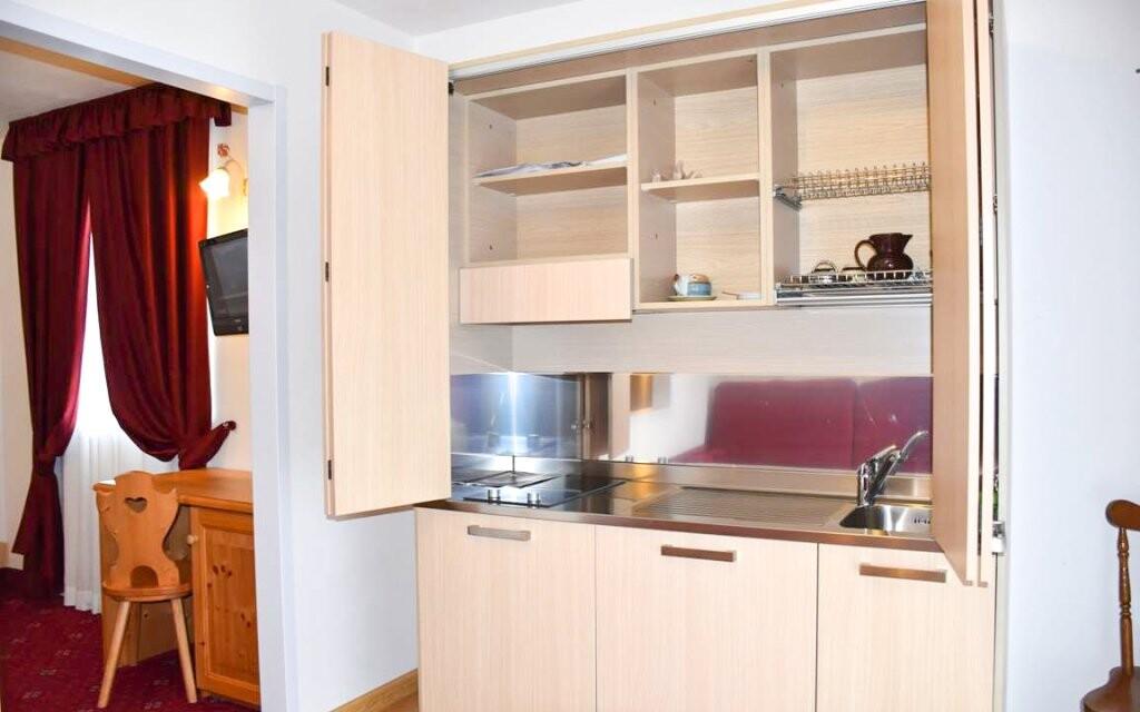 Apartmán s kuchyňou v Hoteli Garní Al Nardis *** v Taliansku
