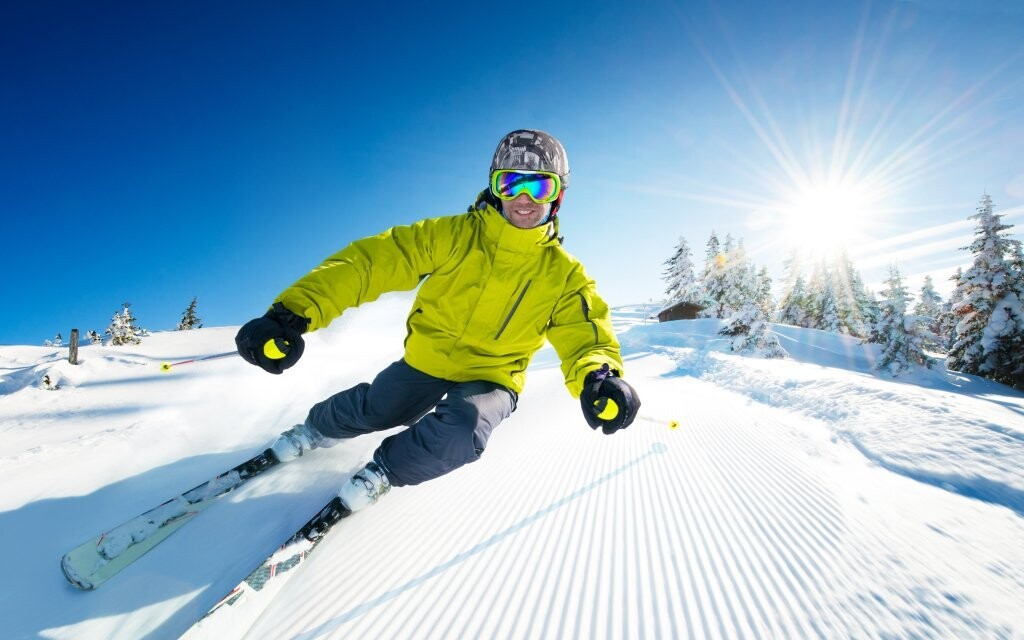 Ski areály v Dolomitech Itálie