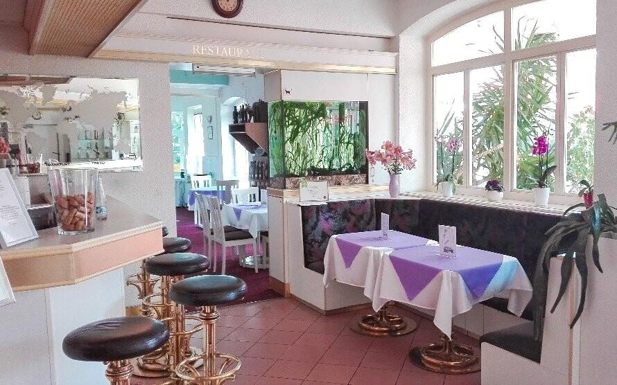 Recepce a restaurace v Hotelu Ferdinand *** Mariánské Lázně