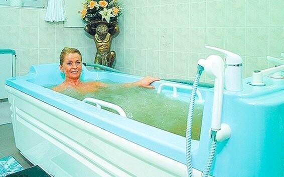 Kúpeľné procedúry v Hoteli Ferdinand *** Mariánské Lázně