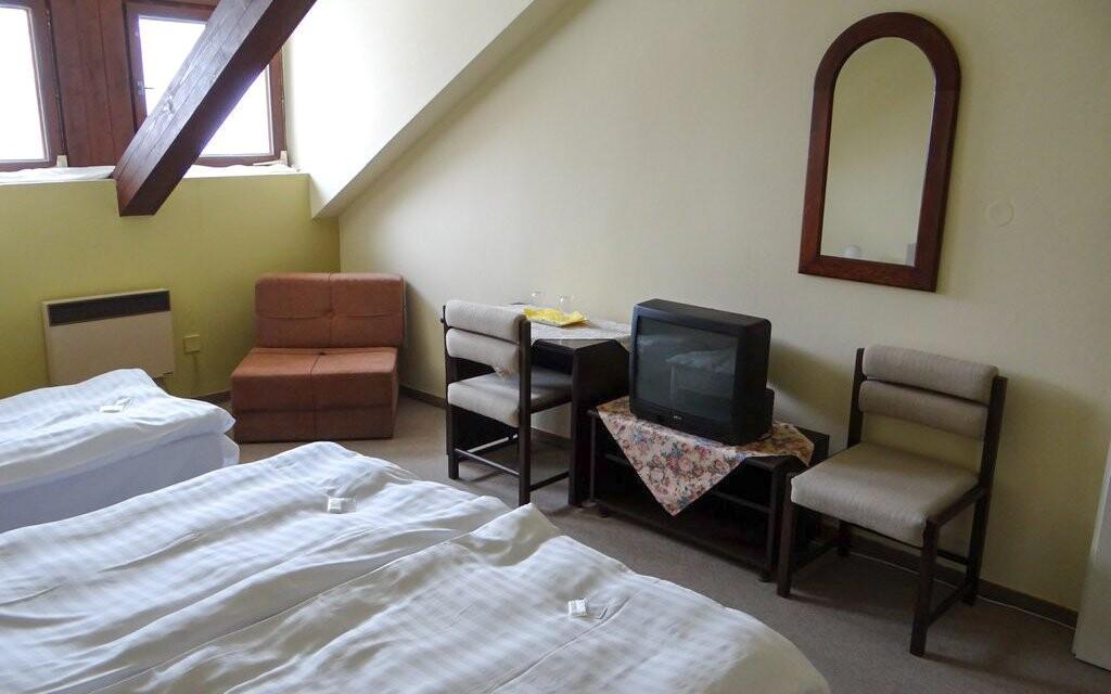 Pokoj s televizí Hotel Zlatý Kříž *** Kaplice jižní Čechy