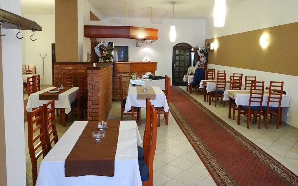Restaurace v Hotelu Zlatý Kříž *** Kaplice jižní Čechy