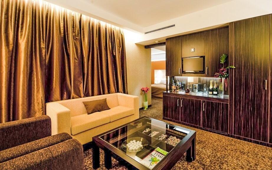 Za příplatek si můžete užít pokoje s vlastním balkonem