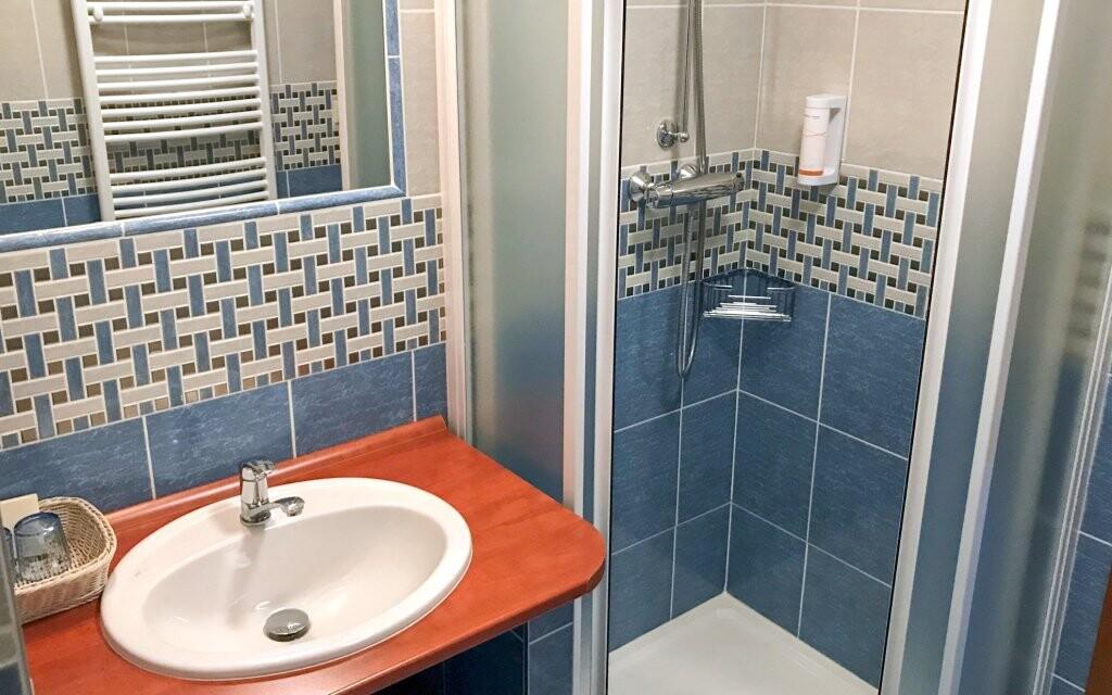 Koupelna v Hotelu Na Dolině *** Frenštát pod Radhoštěm