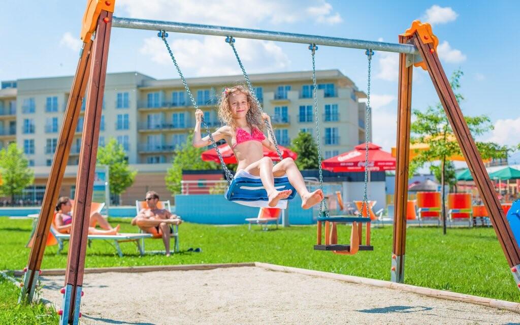 Dětské hřiště v Gotthard Therme & Conference, Maďarsko