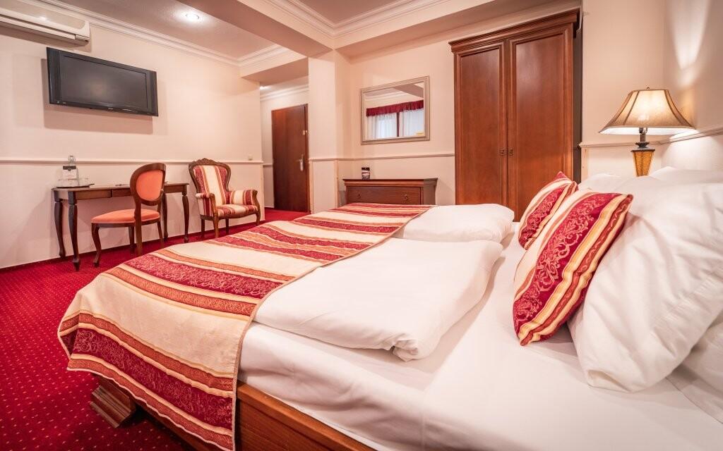 Komfortní pokoje, Hotel Capital ****, Nitra, Slovensko