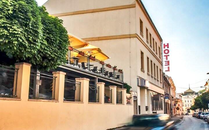 Hotel Capital **** v centru Nitry Slovensko