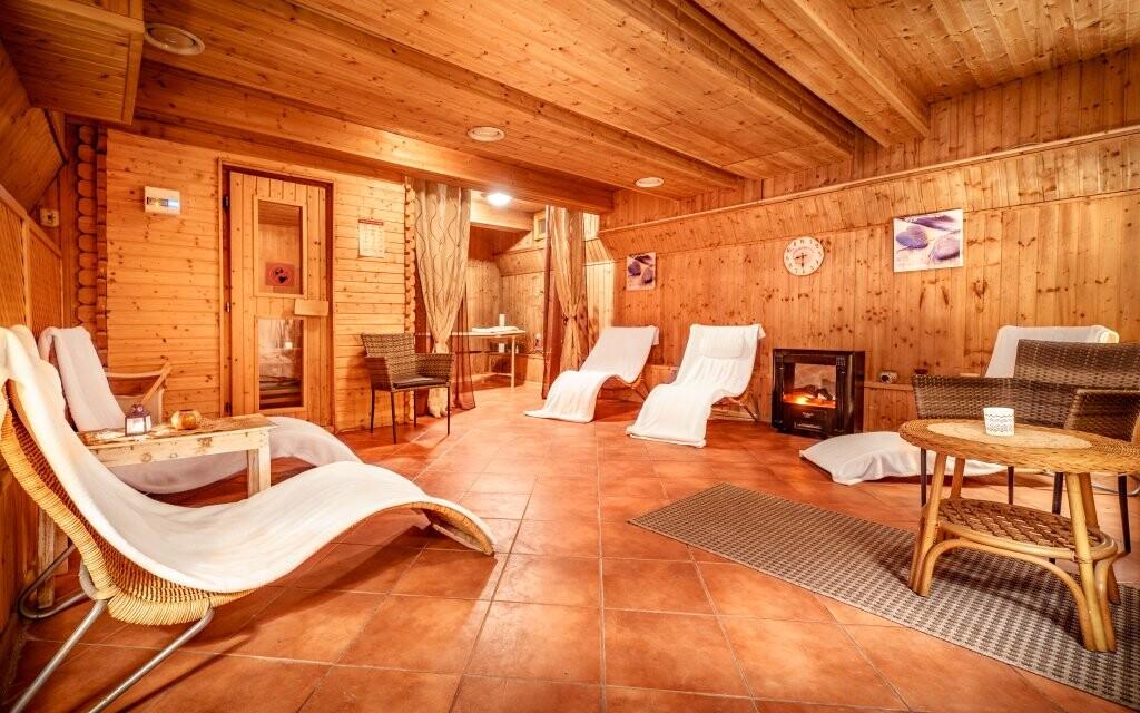 Finská sauna, wellness Hotelu Capital ****, Nitra