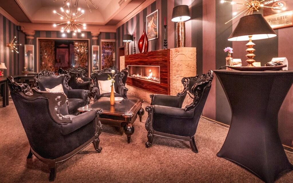 Lounge, interiéry Hotelu Capital ****, Nitra, Slovensko
