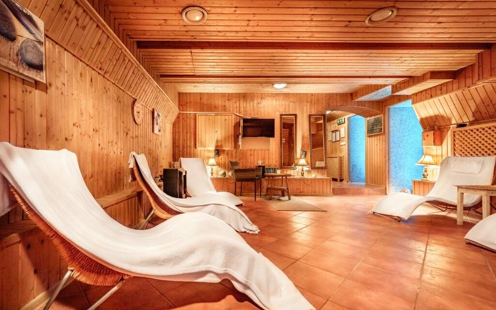 Odpočívárna, wellness Hotelu Capital ****, Nitra