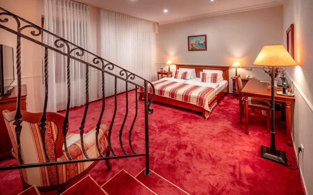 Luxusní ubytování v Hotelu Capital ****, Nitra, Slovensko