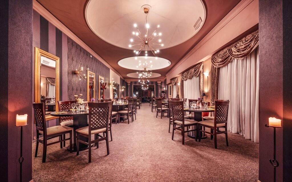 Luxusní restaurace, Hotel Capital ****, Nitra, Slovensko
