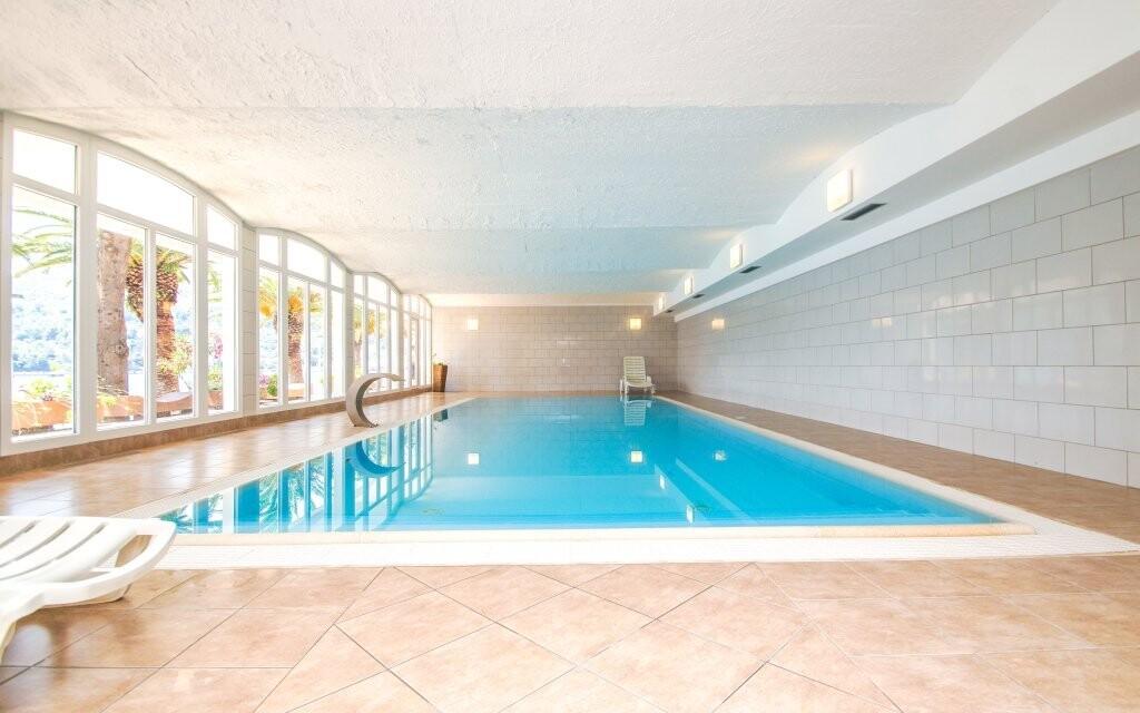 Krytý bazén v Hotelu Posejdon *** Vela Luka Chorvatsko