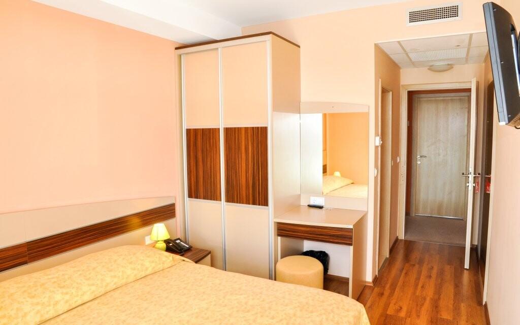 Moderní pokoje Hotelu Posejdon *** Vela Luka Chorvatsko
