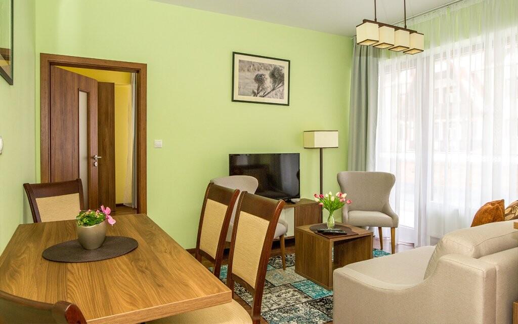 Hrebienok Resort - apartmán s vybavenou kuchyňkou