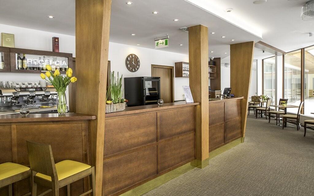 Hrebienok Resort - lobby bar a recepce