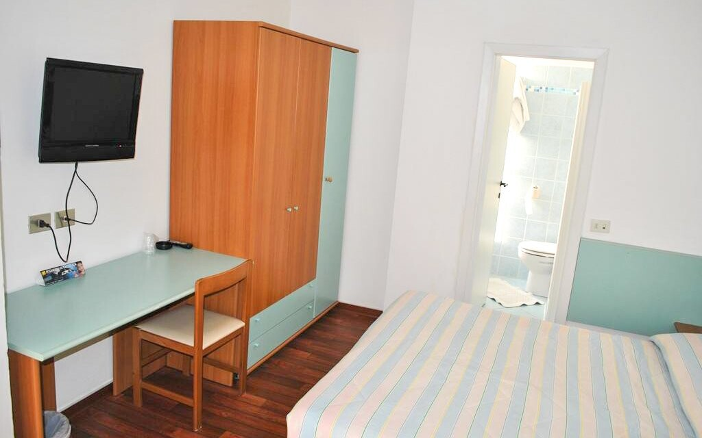 Pokoj s koupelnou Hotel Senior *** Cattolica Itálie