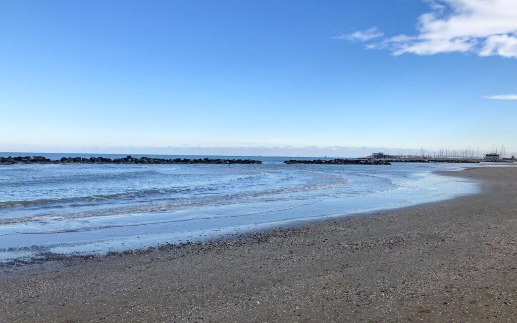 Jaderské moře jen 500 metrů od Hotelu Senior *** Itálie