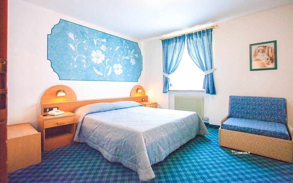 Krásne izby v Hoteli Milano Vermiglio *** Passo Tonale