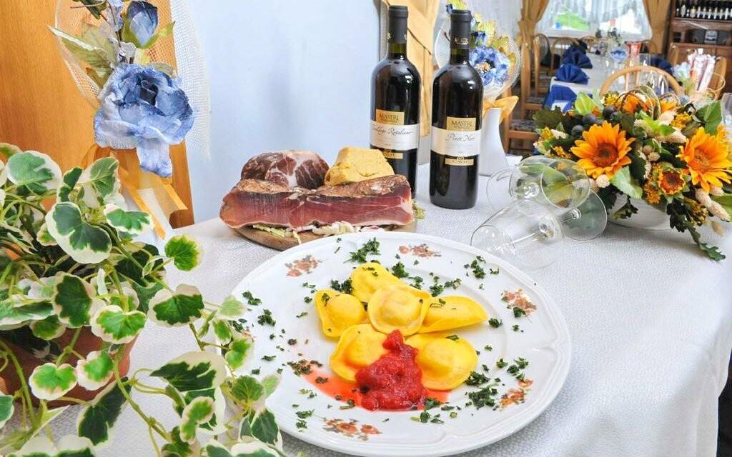 Reštaurácia s domácou kuchyňou v Hoteli Milano Vermiglio ***