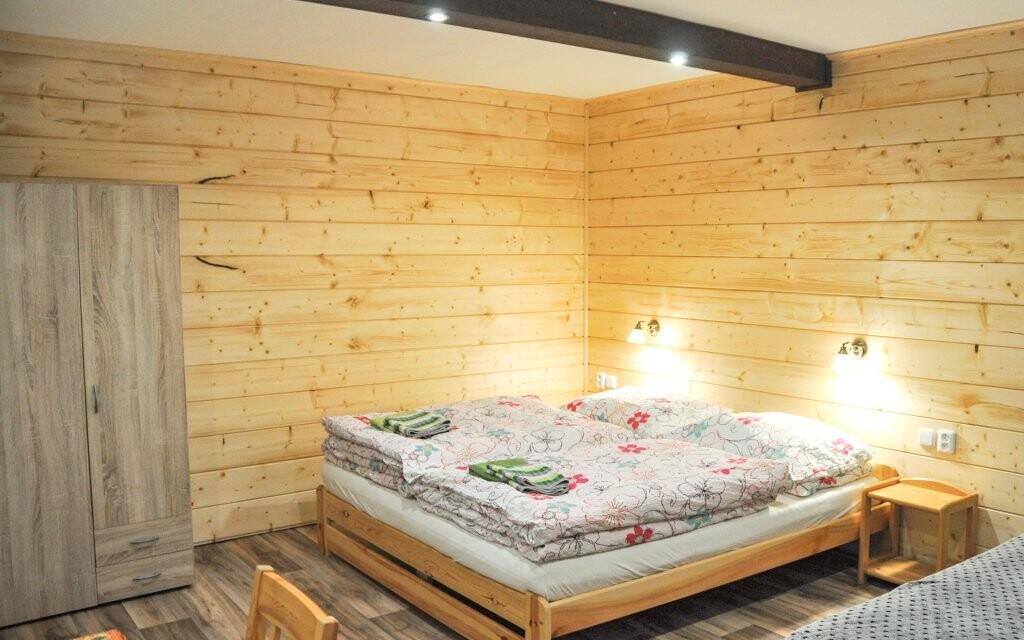 Zrekontruované pokoje Penzionu Rankl-Sepp Šumava