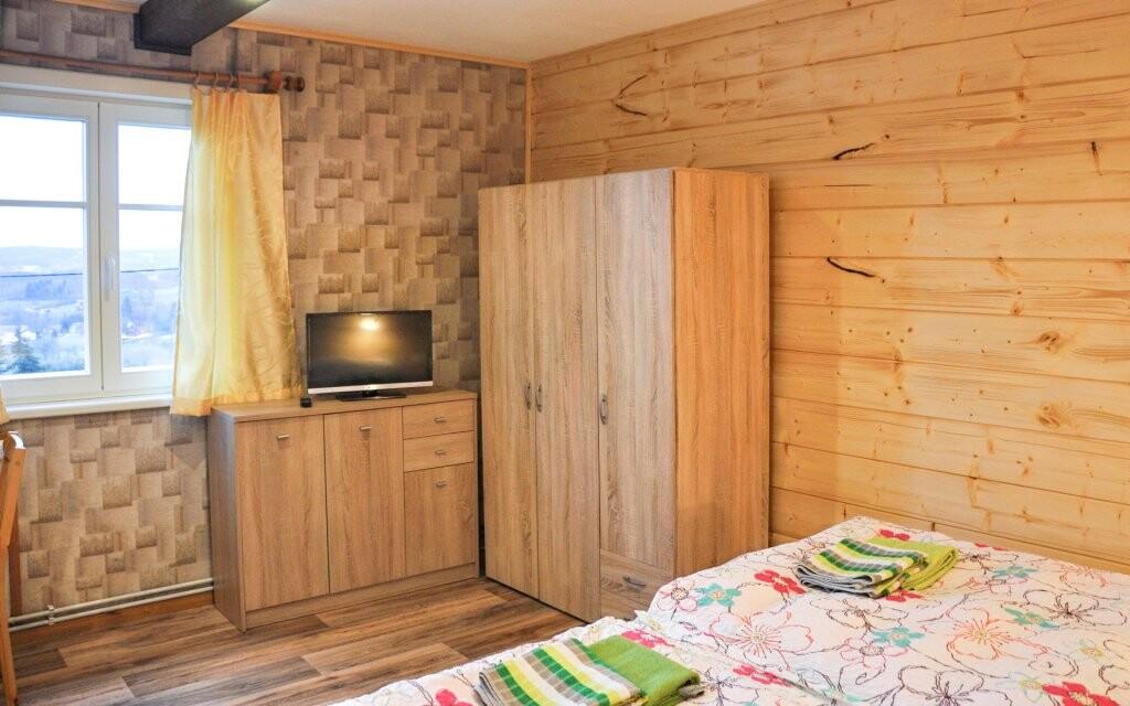 Zrekonstruované pokoje Penzionu Rankl-Sepp Šumava