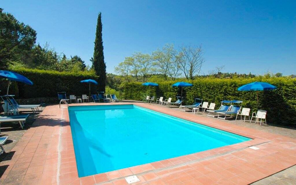 Venkovní bazén Hotel Il Colombaio *** Toskánsko Itálie
