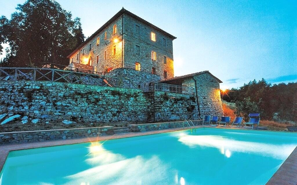 Hotel Villa Casalta s venkovním bazénem Toskánsko Itálie