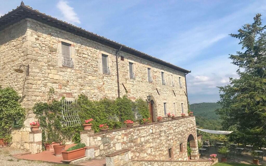 Rustikální Hotel Villa Calaste toskánský venkov Itálie