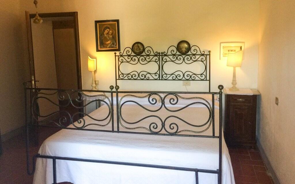 Romanticky vybavené pokoje v Hotelu Villa Casalta Toskánsko