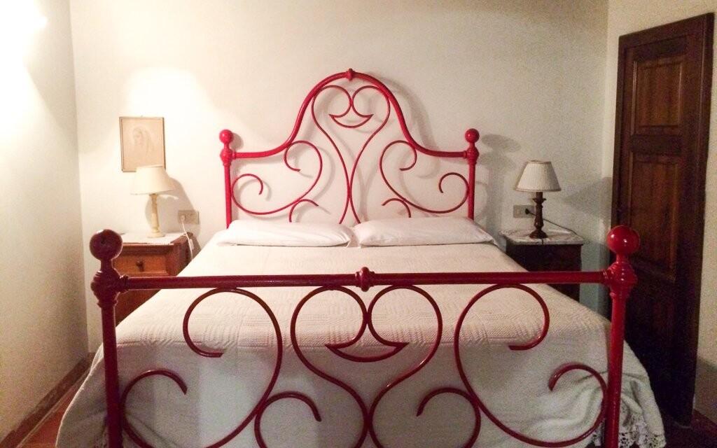 Pokoj v toskánském stylu v Hotelu Villa Calasta Itálie