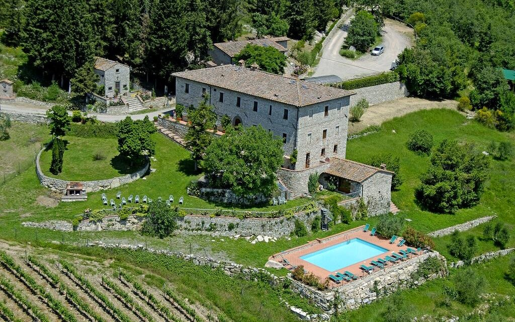 Hotel Villa Casalta Castellina In Chianti Toskánsko Itálie