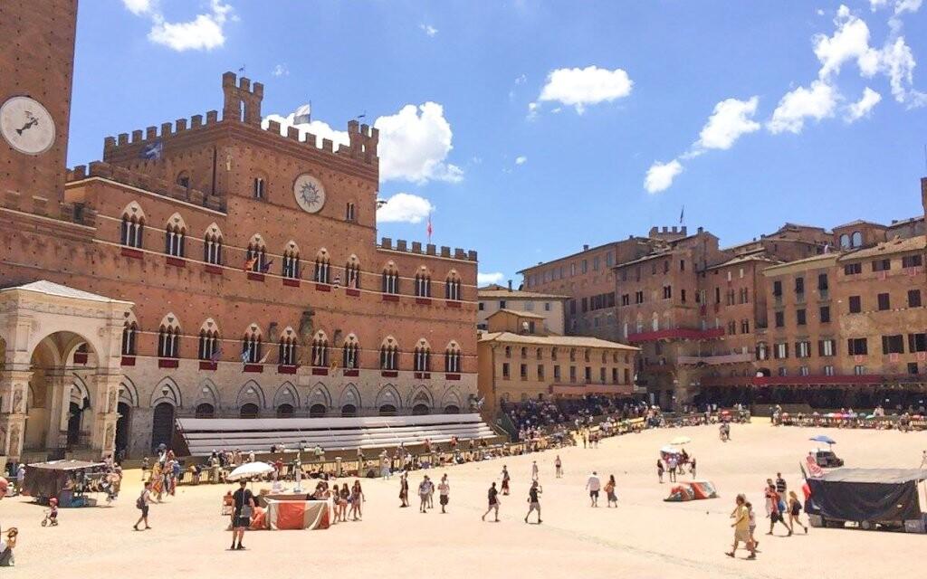 Historické centrum města Siena, památky UNESCO, Itálie