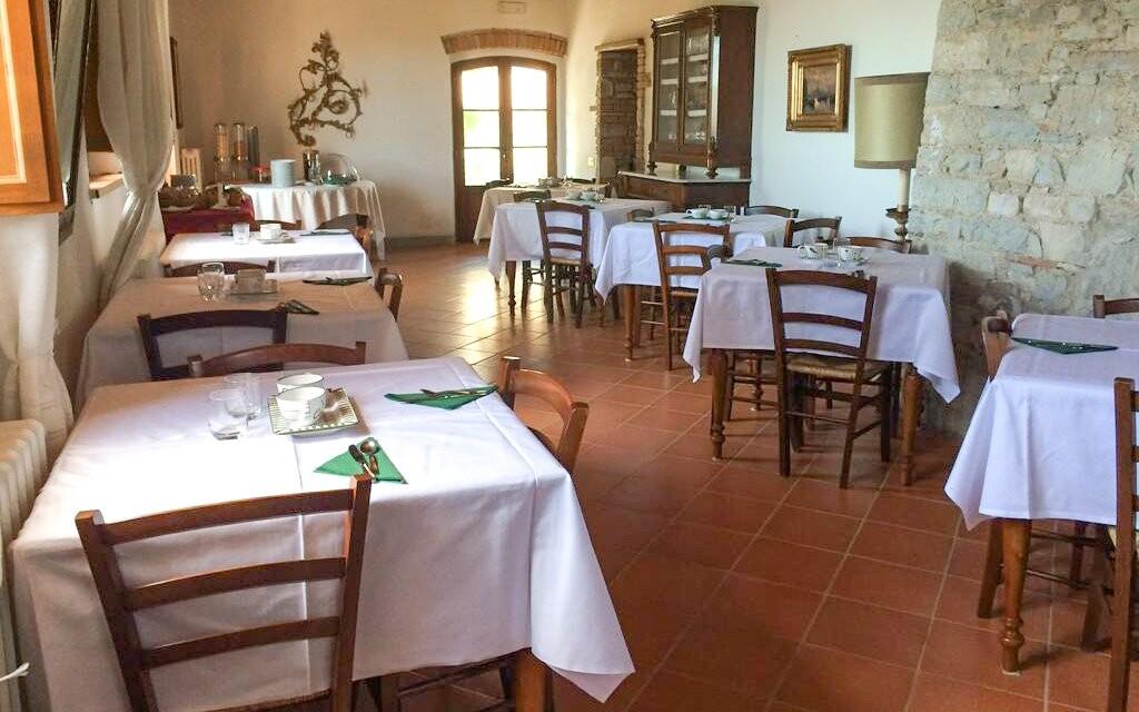 Restaurace Hotelu Villa Calasta Toskánsko Itálie