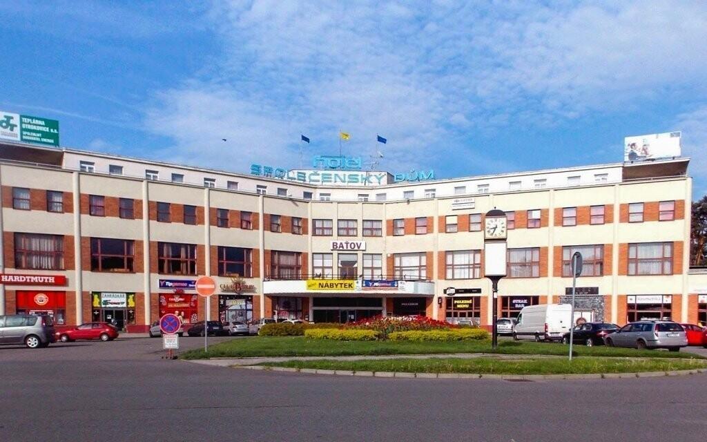 Hotel Baťov postavený známou firmou Baťa, Slovácko