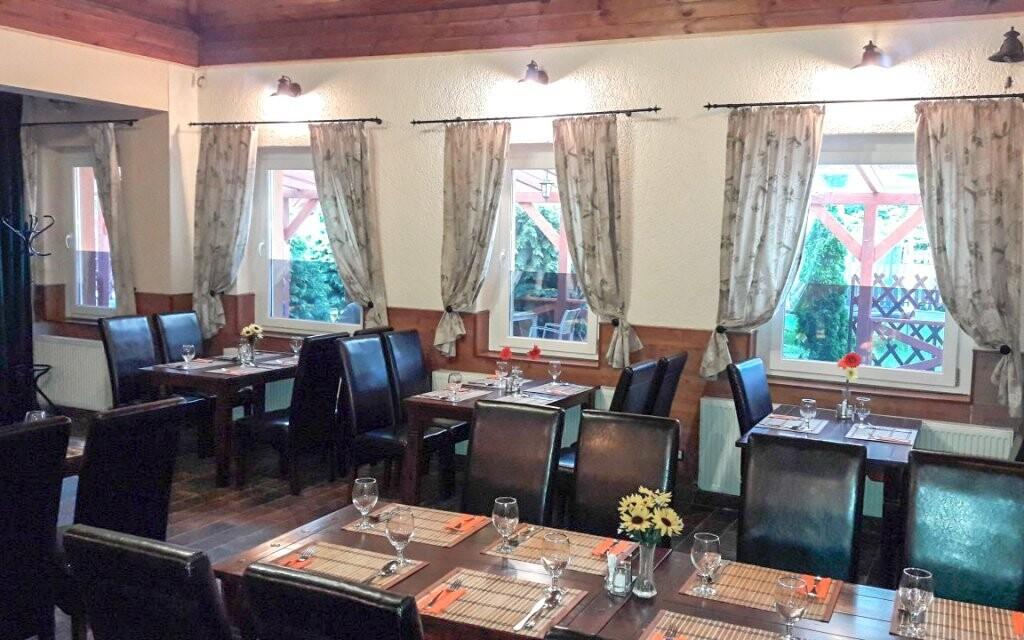 Hotelová reštaurácia, Hungária Panzió, Miskolc Tapolca