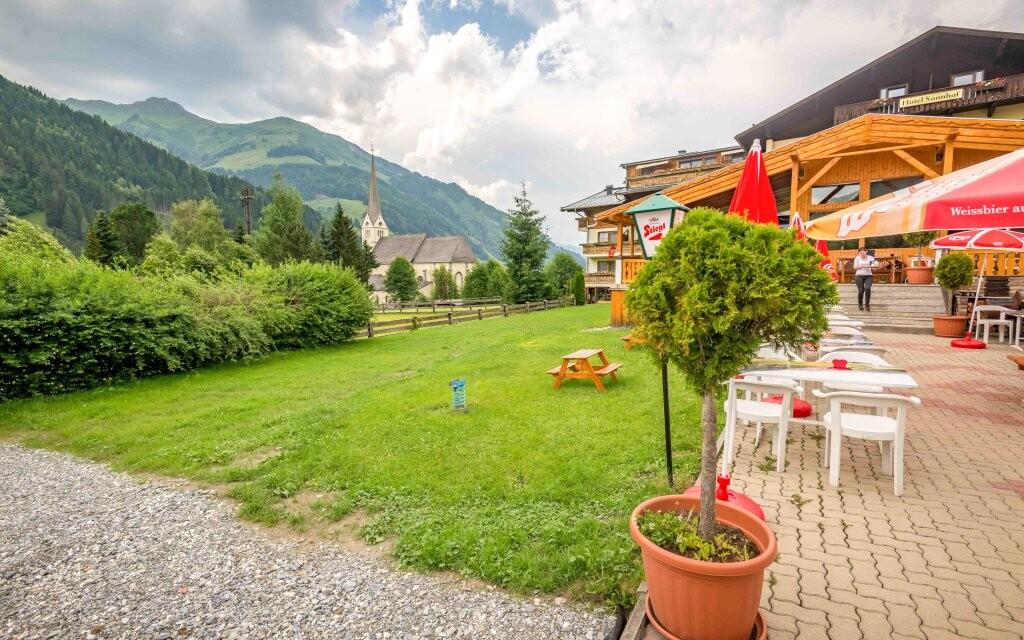 Hotel Sonnhof Rauris *** a panoráma Vysokých Taur