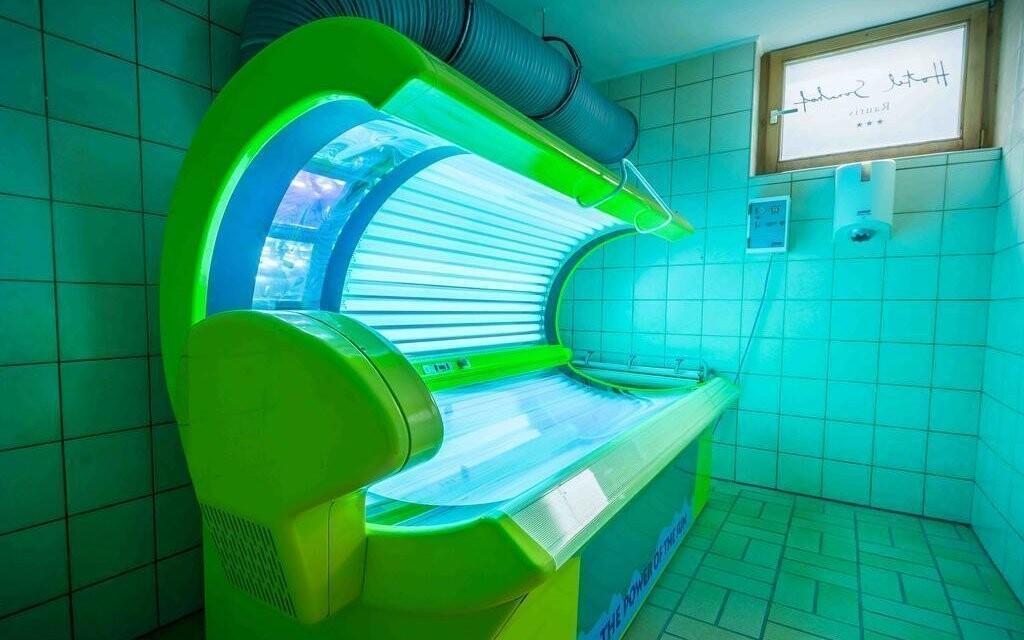 Solárium v Hoteli Sonnhof Rauris *** Rakúsko