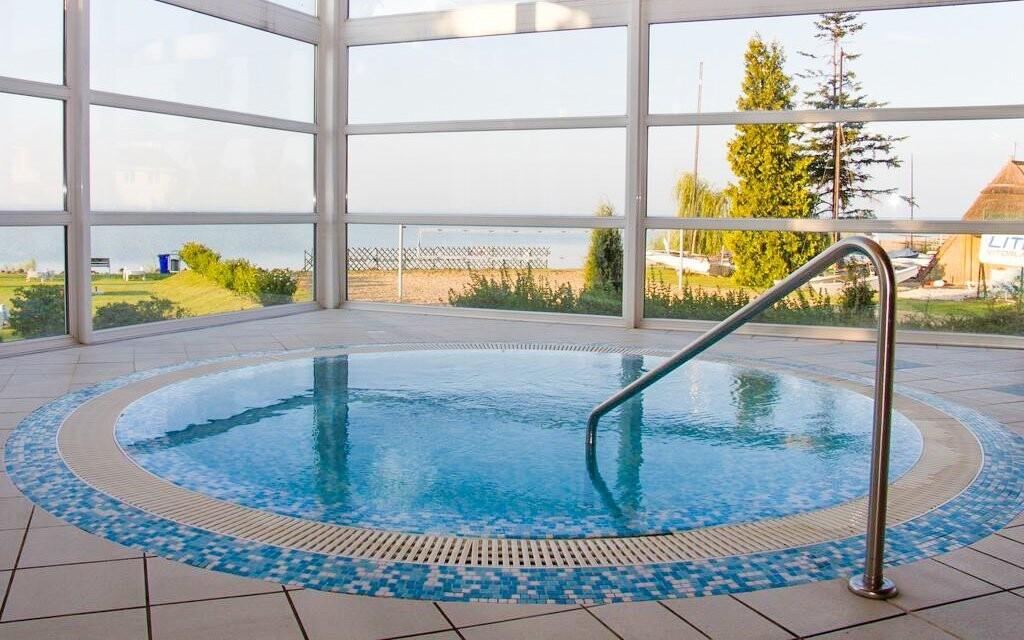 Vírivka, wellness, Hotel Marina-Port ****, Balaton