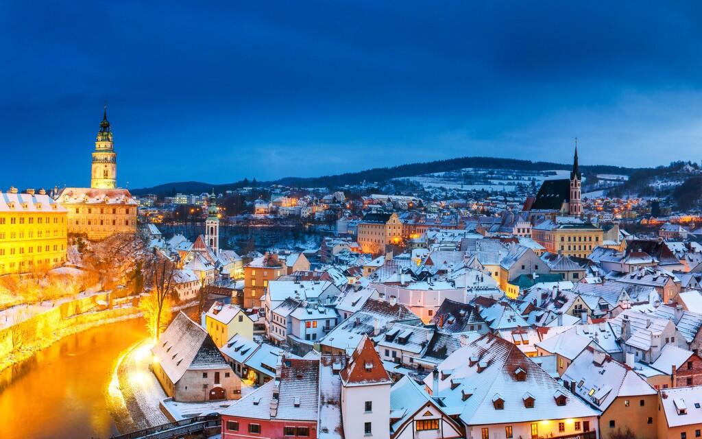Český Krumlov sa pýši zápisom na zoznam UNESCO