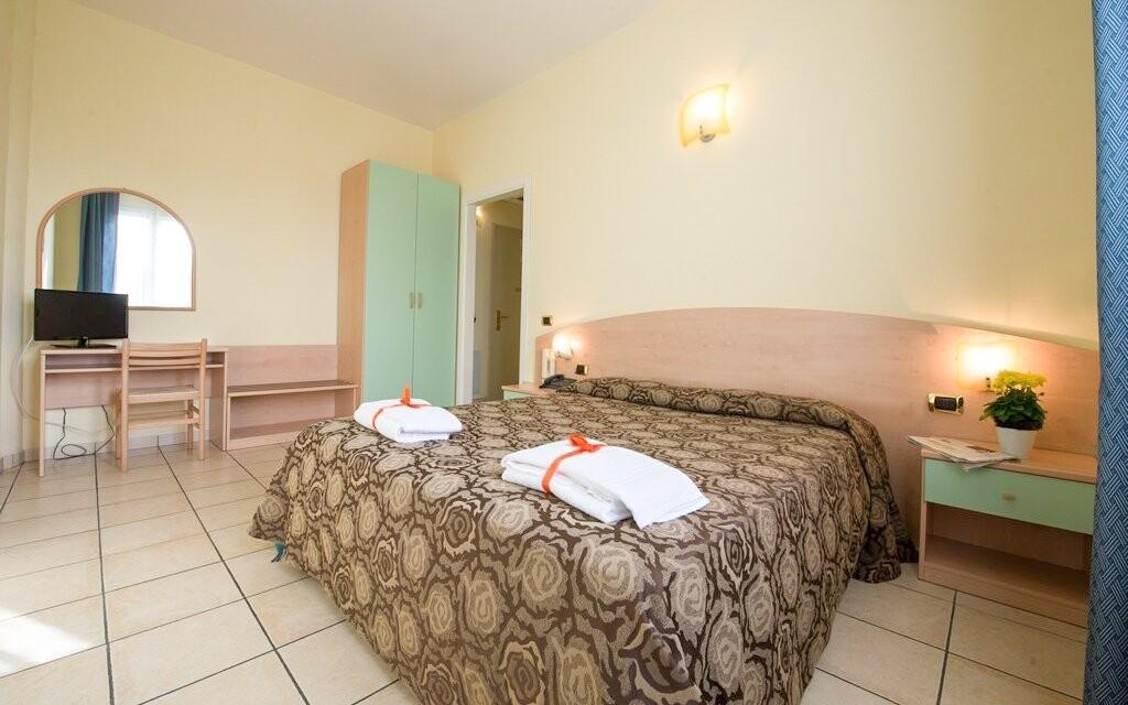 Pohodlné izby, Hotel Formula International, Taliansko