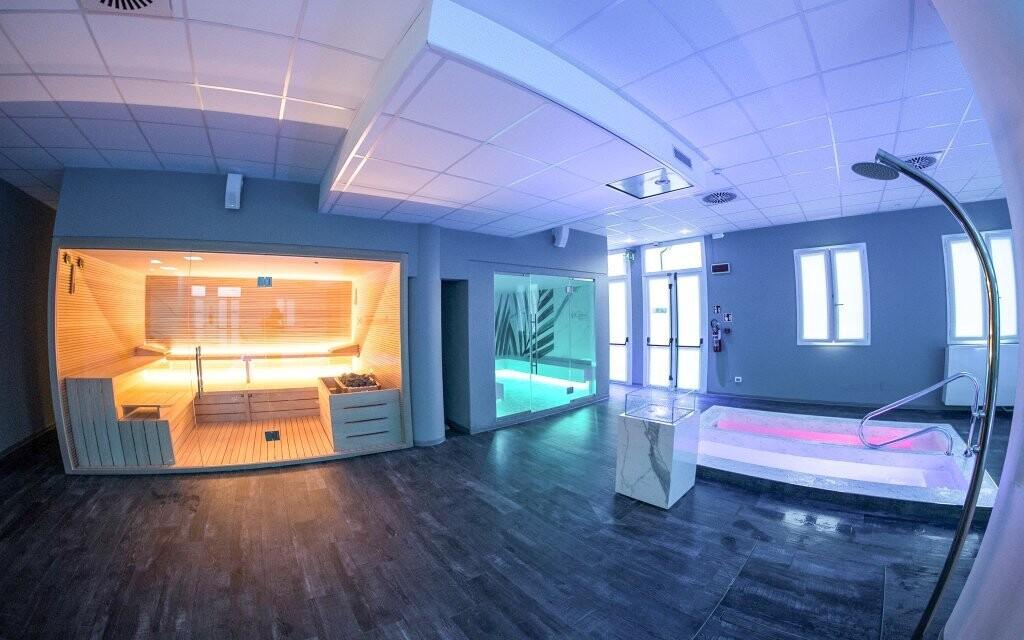 Wellness se saunou, Hotel Formula International, Itálie