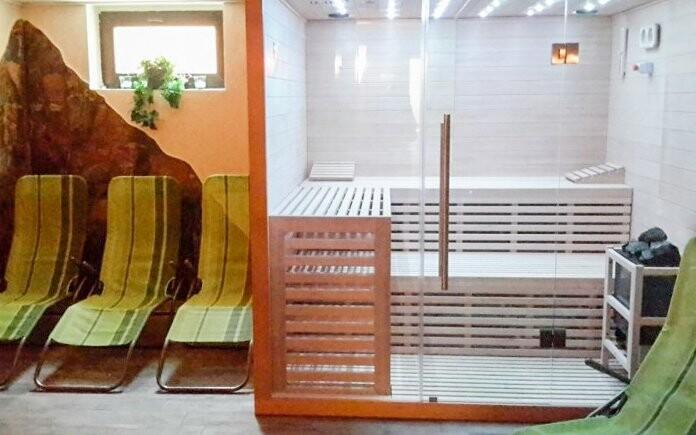 Fínska sauna, Hotel Pruggererhof ***, Rakúsko