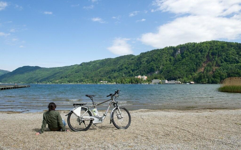 Hotel Haus Lavendel leží kúsok od jazera Ossiach