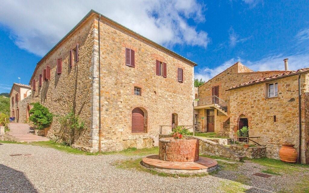 Rodinná vila Fattoria Il Santo, Toskánsko, Taliansko