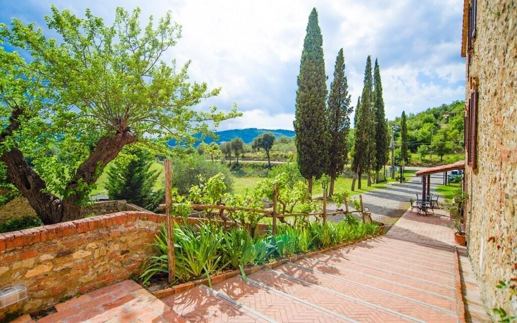 Dovolenka v Toskánsku, vila Fattoria Il Santo, Taliansko