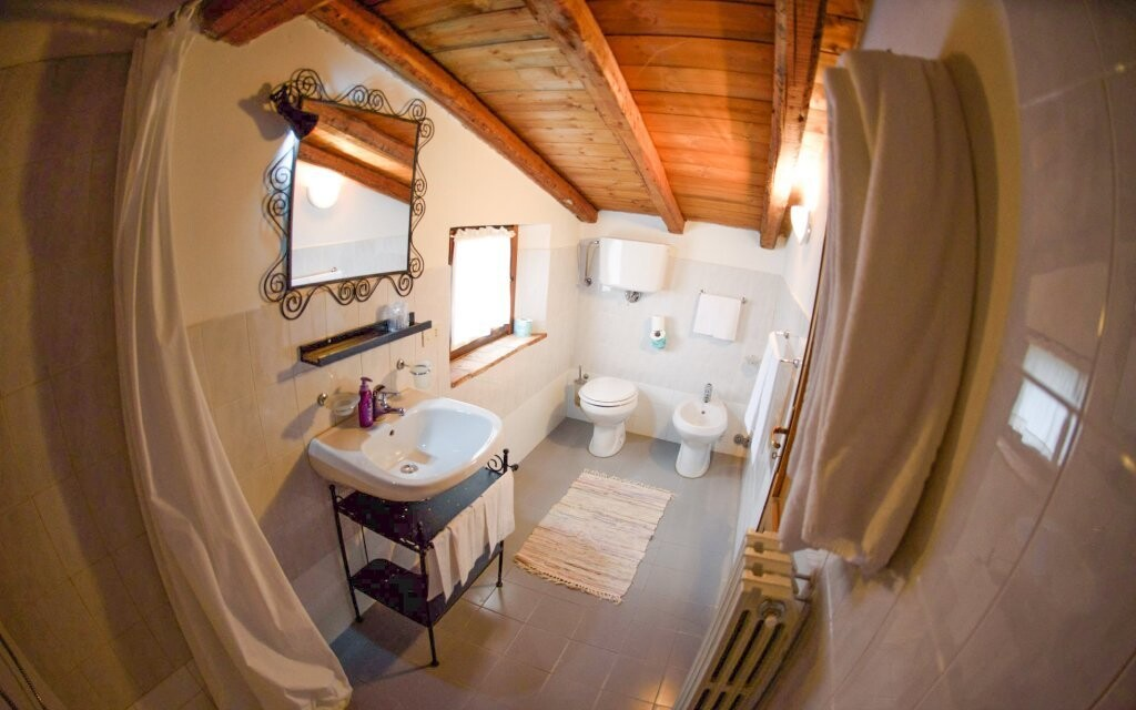 Kúpeľňa, Fattoria Il Santo, Taliansko