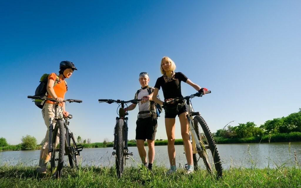 Cyklistika Lipno, Šumava, jižní Čechy